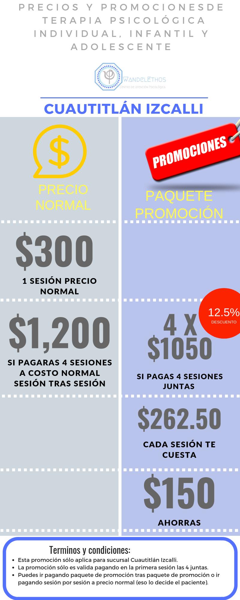 PROMOCIÓN ESPECIAL CUAUTITLÁN IZCALLI